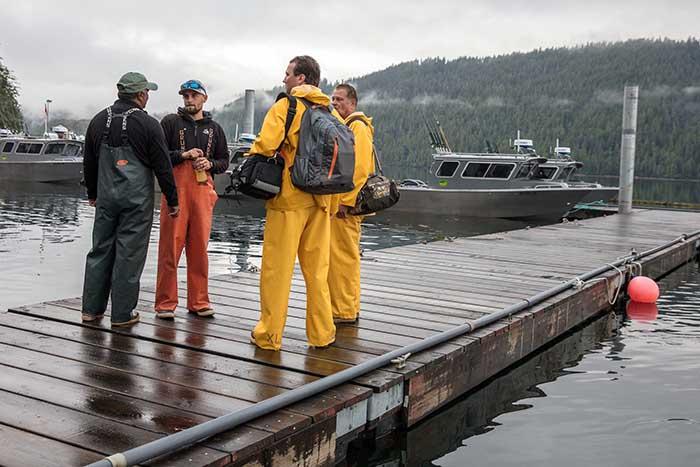 Guides & Gear at Waterfall Resort Alaska